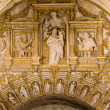 Religious Carvings in Mezquita Cathedral — Stock Photo