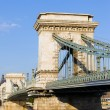Szechenyi Chain Bridge in Budapest — Stock Photo #14329793