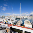 Puerto Banus Marina in Spain - Stock Photo