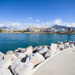 Puerto Banus in Spain — Stock Photo
