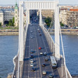Royalty-Free Stock Photo: Budapest Traffic on Elizabeth Bridge