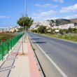 Street Along Costa del Sol in Spain — Stock Photo
