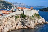 Città vecchia di dubrovnik, in croazia — Foto Stock