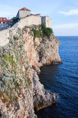 Dubrovnik Cliffs by the Adriatic Sea — Stock Photo