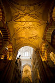 Mezquita Cathedral Interior in Cordoba — Stock Photo