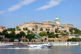Buda Castle in Budapest — Stock Photo