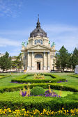 Szechenyi Baths in Budapest — Stock Photo