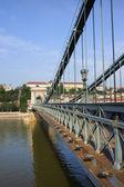 Chain Bridge in Budapest — Stockfoto