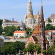 Stock Photo: Churches of Budapest