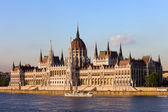 Hungarian Parliament Building in Budapest — Stock Photo