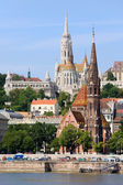 Churches of Budapest — Stock Photo