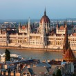 Parliament Building in Budapest at Sunset — Stock Photo #15692007