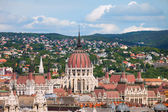 Rooftop of Parliament Building in Budapest — Stock Photo