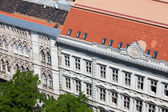 Historic Apartment Buildings in Budapest — Stock Photo