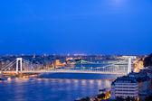 在黄昏的布达佩斯 — 图库照片