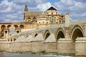 Pont de la mezquita et romain de cordoue — Photo