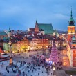Old Town in Warsaw at Evening — Stock Photo #19414373