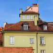 House in the Old Town of Warsaw — Stock Photo