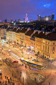 Warsaw City Life — Stock Photo