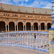 Bridge Balustrade on Plaza de Espana - Stock Photo