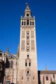 La Giralda Bell Tower in Seville — Stock Photo