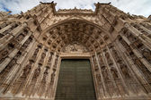 Door of Assumption of the Seville Cathedral — Stock Photo
