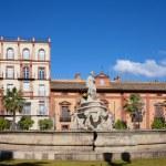 Fountain of Seville — Stock Photo