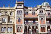 Casas tradicionales en Sevilla — Foto de Stock