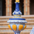 Azulejo Glazed Finial — Stock Photo