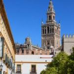 Landmarks of Seville — Stock Photo