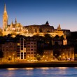 Budapest at Evening — Stock Photo #21677785
