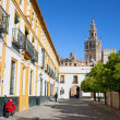 In the Old Town of Seville — Stock Photo