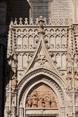Seville Cathedral Ornamentation — Stock Photo