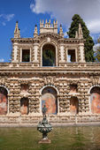 Grotesque Gallery in Real Alcazar of Seville — Stock Photo