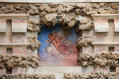 Niche Fresco in Real Alcazar of Seville — Stock Photo