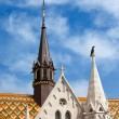 Matthias Church Architectural Details in Budapest — Stock Photo