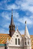 马蒂亚斯教会在布达佩斯建筑细节 — 图库照片