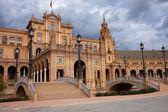 Plaza de Espana Pavilion in Seville — Stock Photo