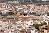 City of Seville Cityscape in Spain — Stock Photo