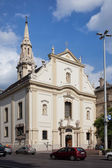 Franciscan Church of Pest in Budapest — Stock Photo