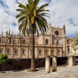 Seville Cathedral in Spain - Stock Photo