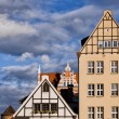 Apartment Houses in Gdansk — Stock Photo