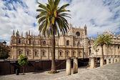 在西班牙的塞维利亚大教堂 — 图库照片