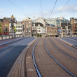 Transport Infrastructure in Amsterdam — Foto de Stock