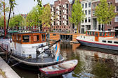 Brouwersgracht Canal in Amsterdam — Stock Photo