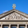 Stock Photo: Amsterdam Concertgebouw Architectural Details