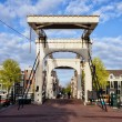 Skinny Bridge in Amsterdam — Stock Photo