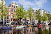 Keizersgracht Canal in Amsterdam — Stock Photo