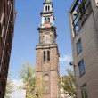 Westerkerk Tower in Amsterdam — Foto Stock