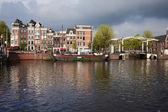 Amsterdam manzarası — Stok fotoğraf
